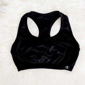 Champion Sports Bra Black Size Small
